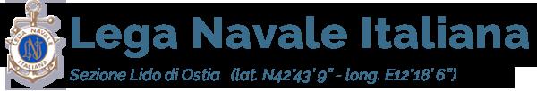 Lega Navale Italiana Sezione Lido di Ostia Logo