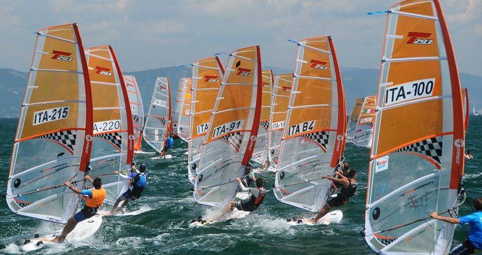 Coppa Italia windsurf T293 - RS:X