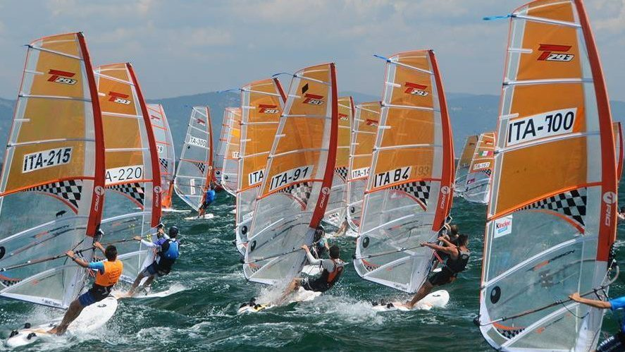 Coppa Italia windsurf T293 - RS:X